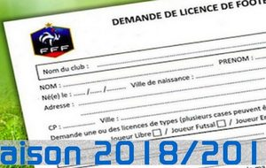 INSCRIPTIONS ADHESIONS 2018 2019